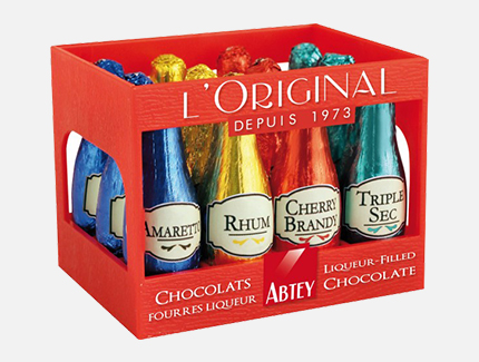 liqour-filled chocolates