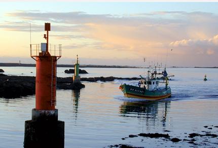 boat in portugal